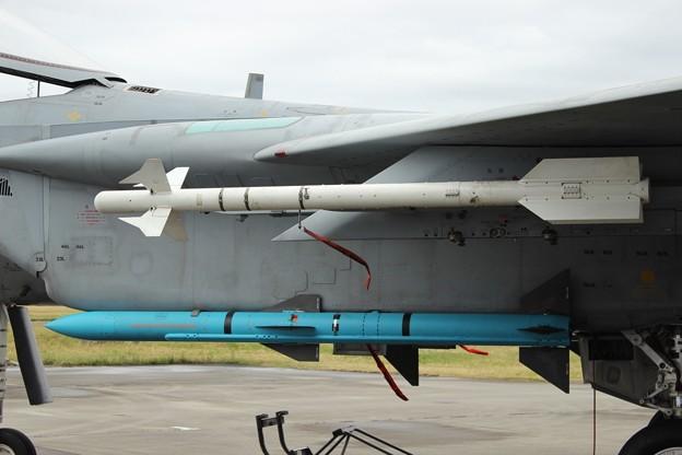 F-15Jに搭載されたAAM-3とAAM-4 ...