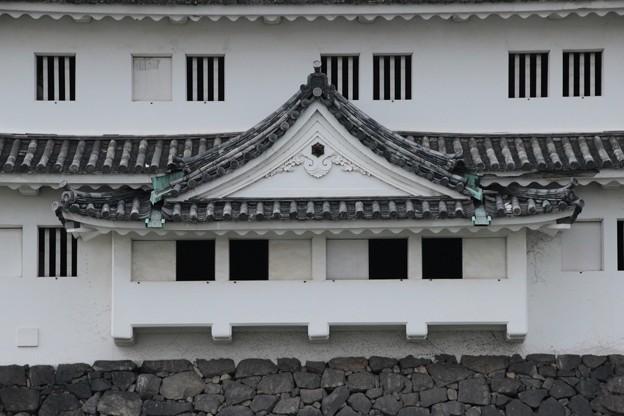 西北隅櫓・石落とし(2) - 写真共...