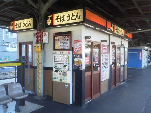 【駅めん】中野駅「黒とろろ梅おろしそば」1