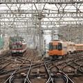 線路いっぱい♪ 近鉄大和西大寺駅