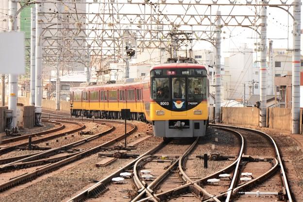 京阪8000系特急出町柳行き8003F
