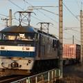 EF210-103牽引コンテナ貨物3060レ 東北本線宝積寺~岡本にて