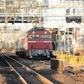待避中のEF81乗務員訓練列車と接近中の上野行き634M