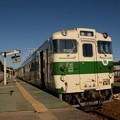 Photos: キハ40烏山駅到着♪