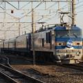 Photos: 雪化粧のEF510-513牽引北斗星号