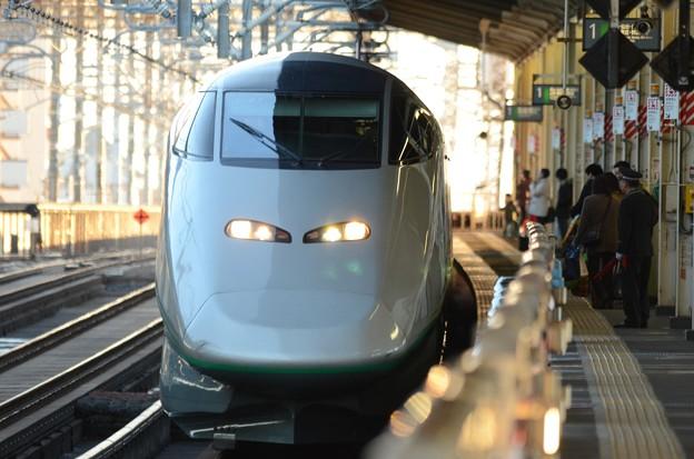 Photos: やまびこ・つばさ143号入線!