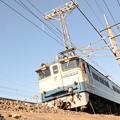 Photos: EF65原色2121号機牽引タキ貨物 宇都宮貨物(タ)発車
