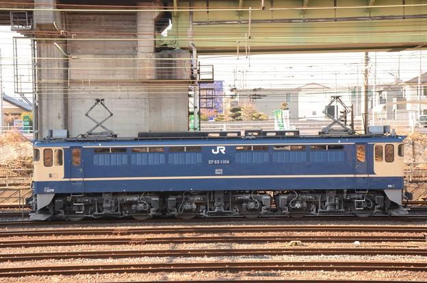 Photos: EF65 原色1104号機(田)宇都宮貨物(タ)11番線