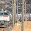 EF65 2097牽引上りタキ貨物 宝積寺~岡本