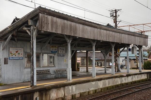 寺田駅ホーム