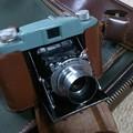 写真: 芽生えカメラ コニレット 昭和26年 280 ?無孔35?film、
