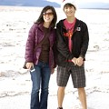 Photos: Badwater - Rie and Kane