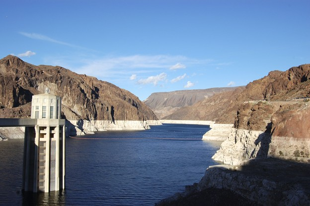 Photos: Hoover dam low water level