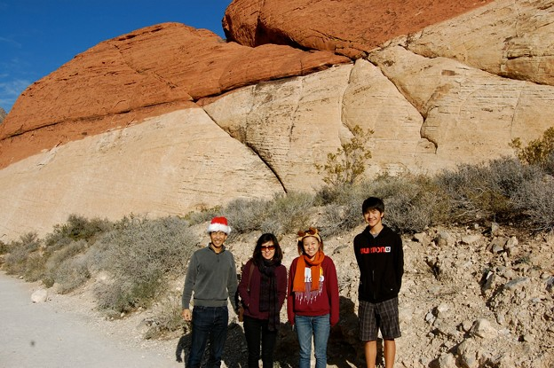 Red Rock Canyon Family
