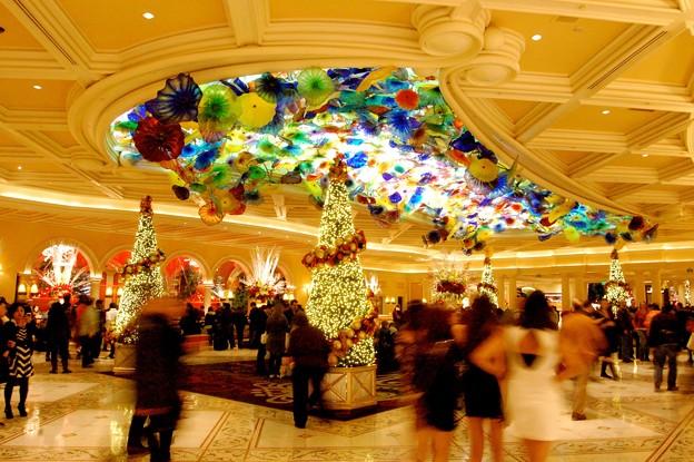 Photos: Bellagio Xmas decoration