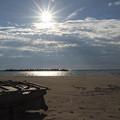 写真: 海の忘れ物