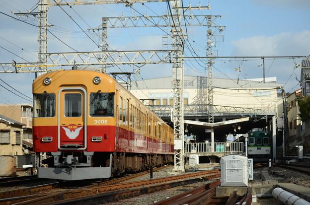 LAST RUN 京阪特急 旧3000系 #3