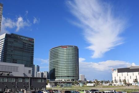 横浜みなとみらい・アートな雲