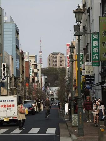 広尾散歩通りと東京タワー10