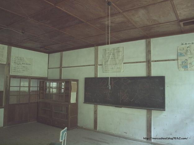 廃校の黒板♪