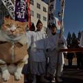Photos: 七福神の行列と遭遇