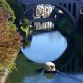 写真: 神田川を