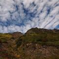 Photos: 秋空に焼岳