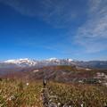 赤兎山から白山別山三ノ峰