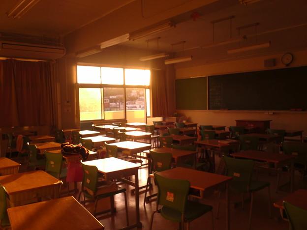 Photos: 3Bの教室青春って感じし...
