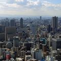 梅田スカイビル展望台から見た風景