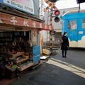 写真: 阪堺モ168号 北天下茶屋停留場