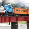トーマス列車 微妙に流す