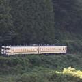 普通列車の流し撮り