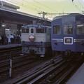 0044 夕方の通勤ラッシュ時 特急「出雲」のスタンバイ