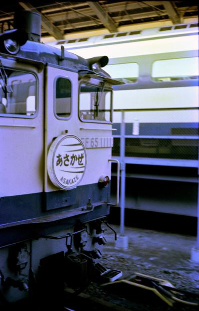 0051 特急「あさかぜ1号」と0系新幹線(東京)