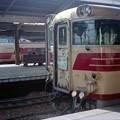 0025 80系特急ひだ 381系特急しなの 101系(名古屋駅)