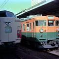 0049 381系特急しなの 165系 中央線の2大スター