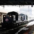 Photos: 004 白石駅を通過するトワイライトエクスプレス