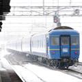 Photos: 011 白石駅を通過する北斗星 最後尾