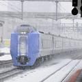 035 白石駅を通過する特急スーパー北斗