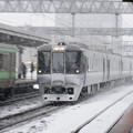 042 白石駅を通過するエアポート特急カムイ