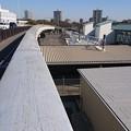 Photos: 熱田駅を跨ぐ歩道手すり