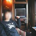 02 2003_6_23 トワイライトEXP(下り)ロイヤル車内にて