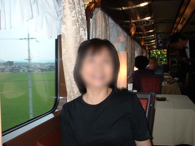 07 2003_6_23 トワイライトEXP(下り)食堂車でランチ