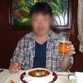 08 2003_6_23 トワイライトEXP(下り)食堂車でランチ ビーフシチュウ