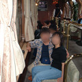 Photos: 13 2003_6_23 トワイライトEXP(下り)敦賀停車中 サロンカーで記念写真