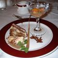 Photos: 21 2003_6_23 トワイライトEXP(下り)フルコースディナー 六品目デザート上品な味でした