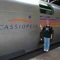 Photos: 24 2003_6_28 カシオペア(上り)1号車2番メゾネットに乗車 部屋はここです!
