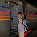 25 2003_6_28 カシオペア(上り)1号車へ乗車します