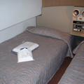 Photos: 26 2003_6_28 カシオペア(上り)メゾネット1階寝室 アメニティが置いてありました